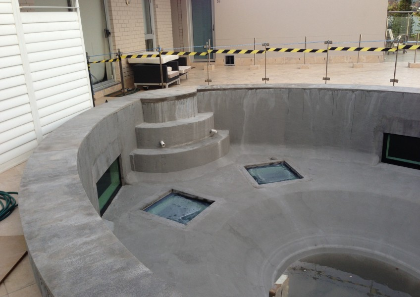 new rendered surface to pool
