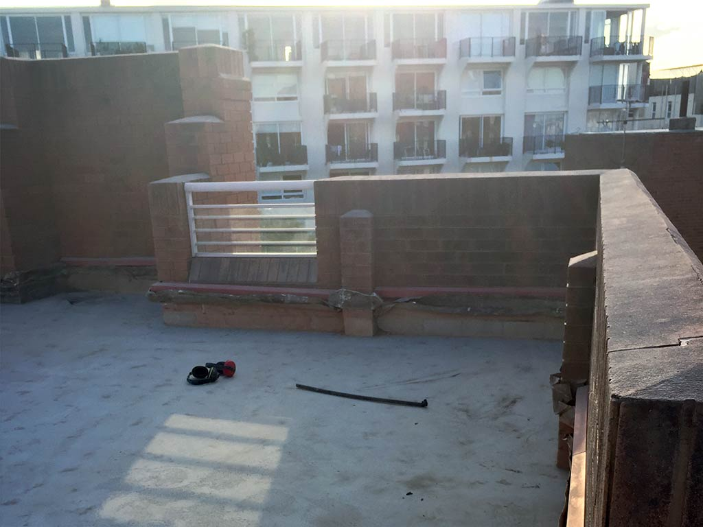 Savings Delivered On Remedial Works To Rooftop Terrace