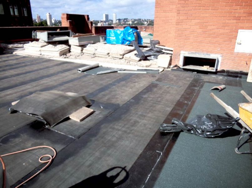 Remedial works to a roof top terrace membrane in Elizabeth Bay, NSW