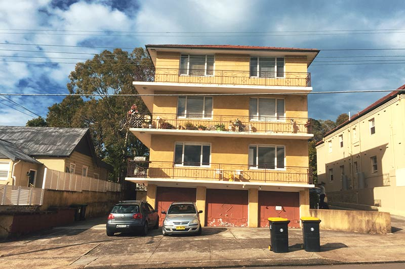 Structural damage in Balgowlah
