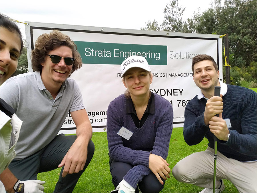 High-energy SES team hits out at SCA Golf Day 2019